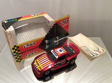 Polistil Porsche 924 Turbo 1/40 scale with box and used sticker sheet, model car