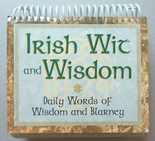 Desktop Flip Calendar Perpetual Irish Wit Ampwisdom Daily Words Wisdom Amp Blarney