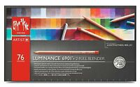 Caran D'Ache Artist Luminance Pencils - 76 Pencils