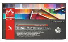 Caran D'Ache Artist Luminance Pencils - 76 Pencils