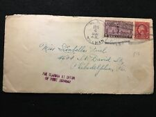 1930  ***U.S.S. TILLMAN***  POSTAL COVER WITH 10 CENT SC# E15 STAMP! US HISTORY!