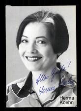Herma Koehn Autogrammkarte Original Signiert # BC 70976