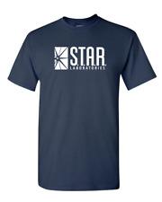 Star Labs The DC Flash Comics Superhero Reverse CW T-Shirt