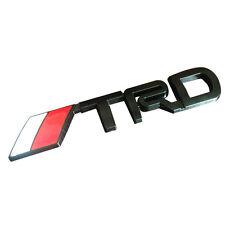 3d voiture autocollant toyota racing équipe d'Metal Badge 14,9x2,3cm xl in Black