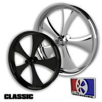 """21x5.5"""" Inch Classic Fat Tire Motorcycle Wheel for Harley Bagger Touring 180mm"""