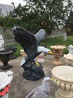 1 Amerikanischer Weißkopfadler in Farbe neu Steinguss OVP Tel.01723246405