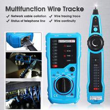 Handheld Wire Line Finder Tester LAN Ethernet Network Cable Tracker Tracer