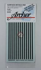 Archer Fine Transfers N-Scale (1/160) 14 inch wide Louvers AR88040