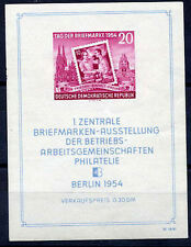 E.GERMANY 1954 Stamp Day block MNH/**