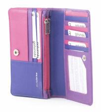 Golunski leather flapover purse Style 880 Vintage 51 range Colour Multis RFID