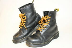 Dr. Martens 13759 1460 Womens 7 38 Black Leather 8 Eye Punk Combat Ankle Boots