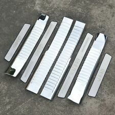 8Pcs Stainless Steel High Quality Door Sill Scuff Plate For JEEP Compass 2007-15