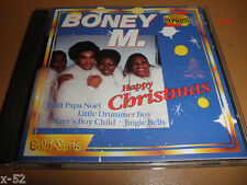 BONEY M cd HAPPY CHRISTMAS little drummer boy JINGLE BELLS mary's boy child