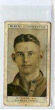 (Gs542-JB) Phillips BDV, Whos Who in Aust Sport, Tyson / O'Reilly 1933 F-G
