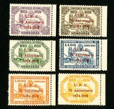 Honduras Stamps # C181-96 VF OG NH