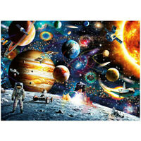 Jigsaw Puzzles Kids Adult 1000pcs Thick Puzzle Toy Walking in Space Planets