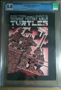 TEENAGE MUTANT NINJA TURTLES #1 2nd Print CGC 5.0 1st APPEARANCE TMNT