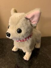 "Westminster Electronic Plush Toy Chihuahua Dog  "" Walking & Barking. """