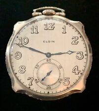 Rare 1926 Elgin Grade 479 Pocket watch, 14k gold filled 17, 12s Model 4 Pw9130C