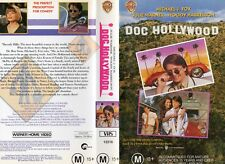 DOC HOLLYWOOD - Michael J Fox  -VHS -PAL -NEW -Never played!-Original Oz release