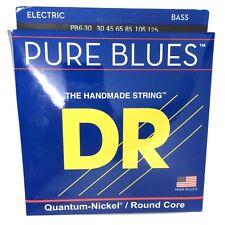 DR Strings PB6-30 Pure Blues 6-String Bass Strings 30-125