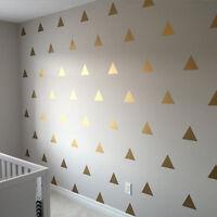 Triangle Stickers Set Vinyl Wall Art DIY Name Bumper Window Laptop Crafts