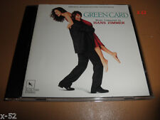 GREEN CARD cd HANS ZIMMER soundtrack peter weir movie SCORE ost MADE IN JAPAN