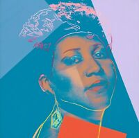 """ANDY WARHOL Pop Art Poster or Canvas Print """"ARETHA FRANKLIN Up to 24''"""
