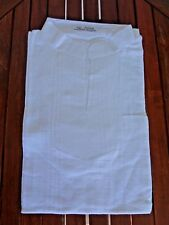 CHEMISE COL MAO BLANC COTON SANS BOUTONS manche courte Homme angkor Cambodge