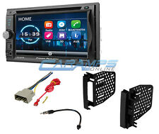 "NEW 6.2"" POWER ACOUSTIK BLUETOOTH RADIO DOUBLE DIN STEREO RECEIVER INSTALL KIT"