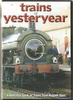 TRAINS OF YESTERYEAR DVD A NOSTALGIC LOOK