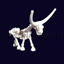 Custom LEGO skeleton horse / cow - this animal could suit city / castle sets