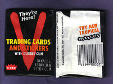 1984 Fleer V  Trading Cards Wax Pack (x1) Fresh from Original Box!