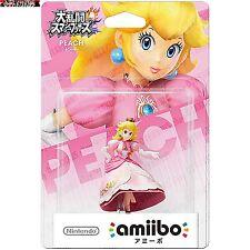 Peach amiibo Figura Nintendo Mario Smash Bros Wii U Nuevo Y 3ds Japón
