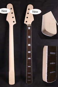 New Bass Guitar Neck 20Fret 30inch Maple Rosewood Fretboard Block Inlay