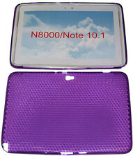 PATTERN GEL Custodia protettiva cover VIOLA per Samsung Galaxy Note 10.1 N8000 N8010