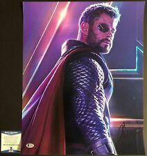 Chris Hemsworth Signed 16x20 Avengers: Infinity War Thor BAS Beckett