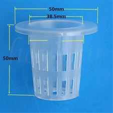 5x Mesh Pot Net Basket Hydroponic Aeroponic Flower Container Plant Grow Pot Cup