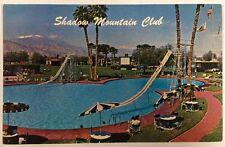 Shadow Mountain Club Pool Palm Desert, California CA Chrome Postcard Unused