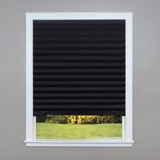 6 Pk Redi Shade Paper Window Blinds Black Out Pleated 36 in x 72 in Perfect Fit