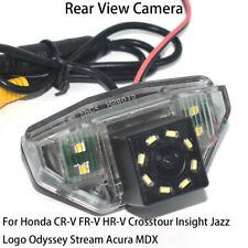 HD Car Rear View Reverse Backup Camera for Honda CRV FRV HRV Acura MDX Crosstour