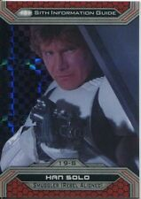 Star Wars Chrome Perspectives II X Fractor Parallel Base Card 19-S Han Solo