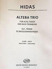 Hidas - Alteba Trio - for Alto, Tenor and Bass Thrombone