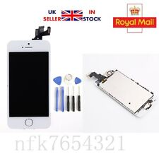 Full Assembly  Replacement LCD Screen Digitizer Camera For White iPhone 5S New