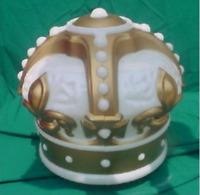 Reproduction Gold Crown Gas Pump Globe [-Gas & Oil-]