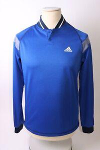 Adidas Men's Warmth 1/4 Zip Top - S - Blue