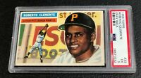 Pittsburgh Pirates Roberto Clemente 1956 Topps #33 PSA 5 Ex Gray Back