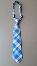 NEW The Children's Place Blue Plaid Necktie Toddler Boy 24 month - 4T