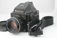 【NEAR MINT】 Mamiya M645 1000s Prism Finder + Sekor C 80mm f/2.8 from Japan A779