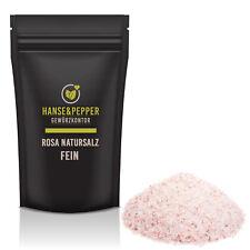 2Kg Rosa Natursalz fein Himalaya Salz 1A natürlich Hanse&Pepper Gewürzkontor